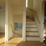 リビング階段(内装)